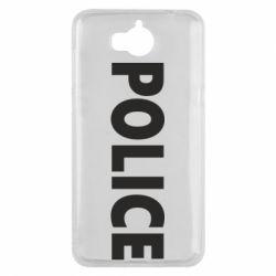 Чехол для Huawei Y5 2017 POLICE - FatLine