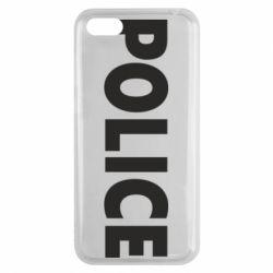 Чехол для Huawei Y5 2018 POLICE - FatLine