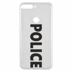 Чехол для Huawei Y7 Prime 2018 POLICE - FatLine
