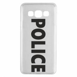 Чехол для Samsung A3 2015 POLICE