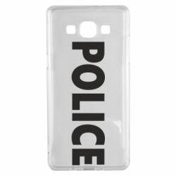 Чехол для Samsung A5 2015 POLICE