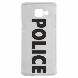 Чехол для Samsung A5 2016 POLICE