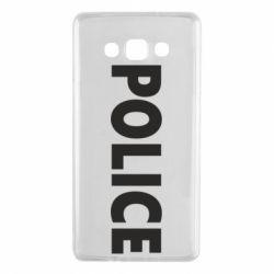 Чехол для Samsung A7 2015 POLICE