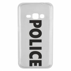 Чехол для Samsung J1 2016 POLICE