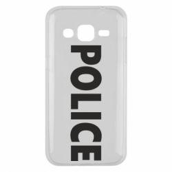 Чехол для Samsung J2 2015 POLICE