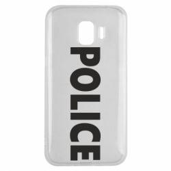 Чехол для Samsung J2 2018 POLICE