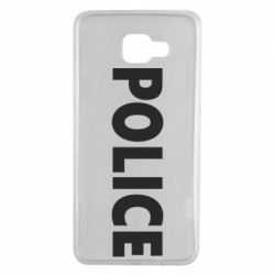Чехол для Samsung A7 2016 POLICE
