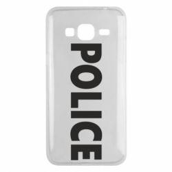 Чехол для Samsung J3 2016 POLICE