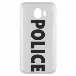 Чехол для Samsung J4 POLICE