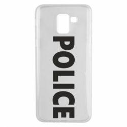 Чехол для Samsung J6 POLICE