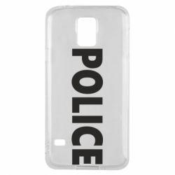 Чехол для Samsung S5 POLICE