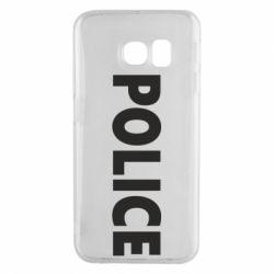 Чехол для Samsung S6 EDGE POLICE