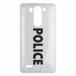 Чехол для LG G3 mini/G3s POLICE - FatLine