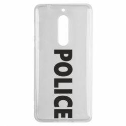 Чехол для Nokia 5 POLICE - FatLine