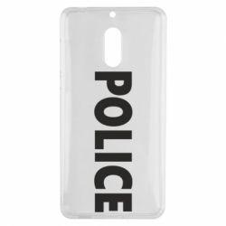 Чехол для Nokia 6 POLICE - FatLine