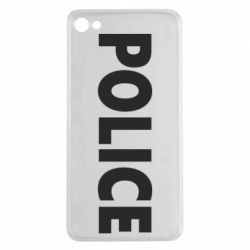 Чехол для Meizu U20 POLICE - FatLine