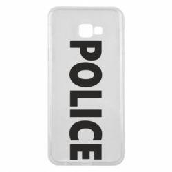 Чехол для Samsung J4 Plus 2018 POLICE