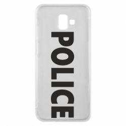 Чехол для Samsung J6 Plus 2018 POLICE
