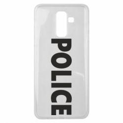 Чехол для Samsung J8 2018 POLICE