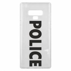 Чехол для Samsung Note 9 POLICE