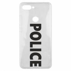 Чехол для Xiaomi Mi8 Lite POLICE - FatLine