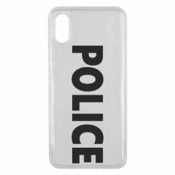 Чехол для Xiaomi Mi8 Pro POLICE - FatLine