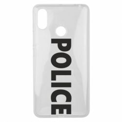 Чехол для Xiaomi Mi Max 3 POLICE - FatLine