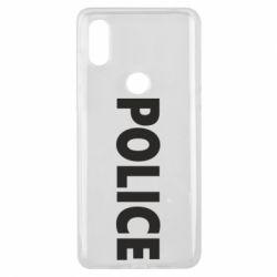 Чехол для Xiaomi Mi Mix 3 POLICE - FatLine