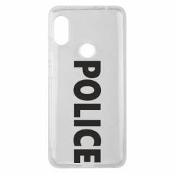 Чехол для Xiaomi Redmi Note 6 Pro POLICE - FatLine