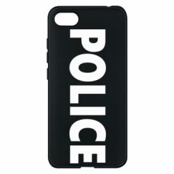 Чехол для Xiaomi Redmi 6A POLICE - FatLine