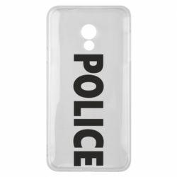 Чехол для Meizu 15 Lite POLICE - FatLine