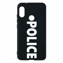 Чехол для Mi A2 Lite POLICE - FatLine