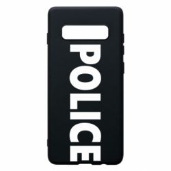 Чехол для Samsung S10+ POLICE