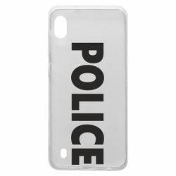 Чехол для Samsung A10 POLICE