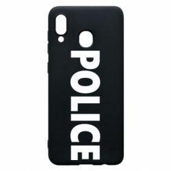 Чехол для Samsung A20 POLICE