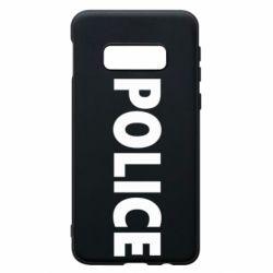 Чехол для Samsung S10e POLICE