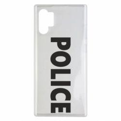 Чехол для Samsung Note 10 Plus POLICE