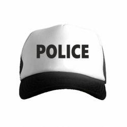 Детская кепка-тракер POLICE