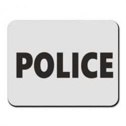 Коврик для мыши POLICE - FatLine