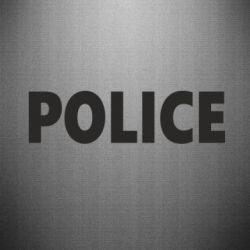 Наклейка POLICE - FatLine