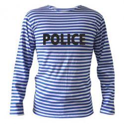 Тельняшка с длинным рукавом POLICE - FatLine