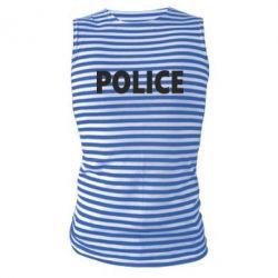 Майка-тельняшка POLICE - FatLine