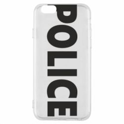 Чехол для iPhone 6/6S POLICE - FatLine