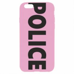Чехол для iPhone 6 Plus/6S Plus POLICE - FatLine