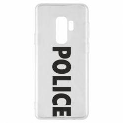 Чехол для Samsung S9+ POLICE