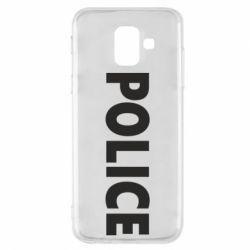 Чехол для Samsung A6 2018 POLICE