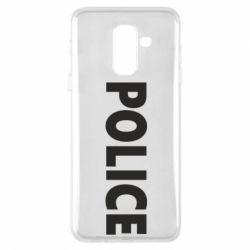 Чехол для Samsung A6+ 2018 POLICE