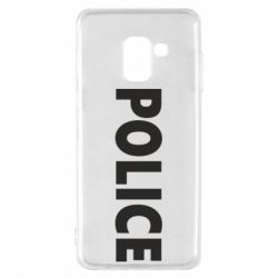 Чехол для Samsung A8 2018 POLICE