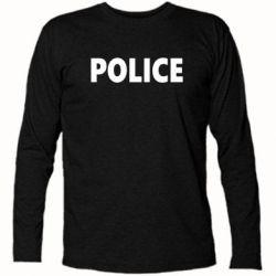 Футболка с длинным рукавом POLICE - FatLine
