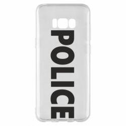 Чехол для Samsung S8+ POLICE